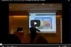 Exposición AHS TECHNOLOGY entrega de premios Innoves